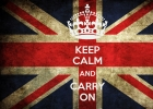 Keep calm and carry …